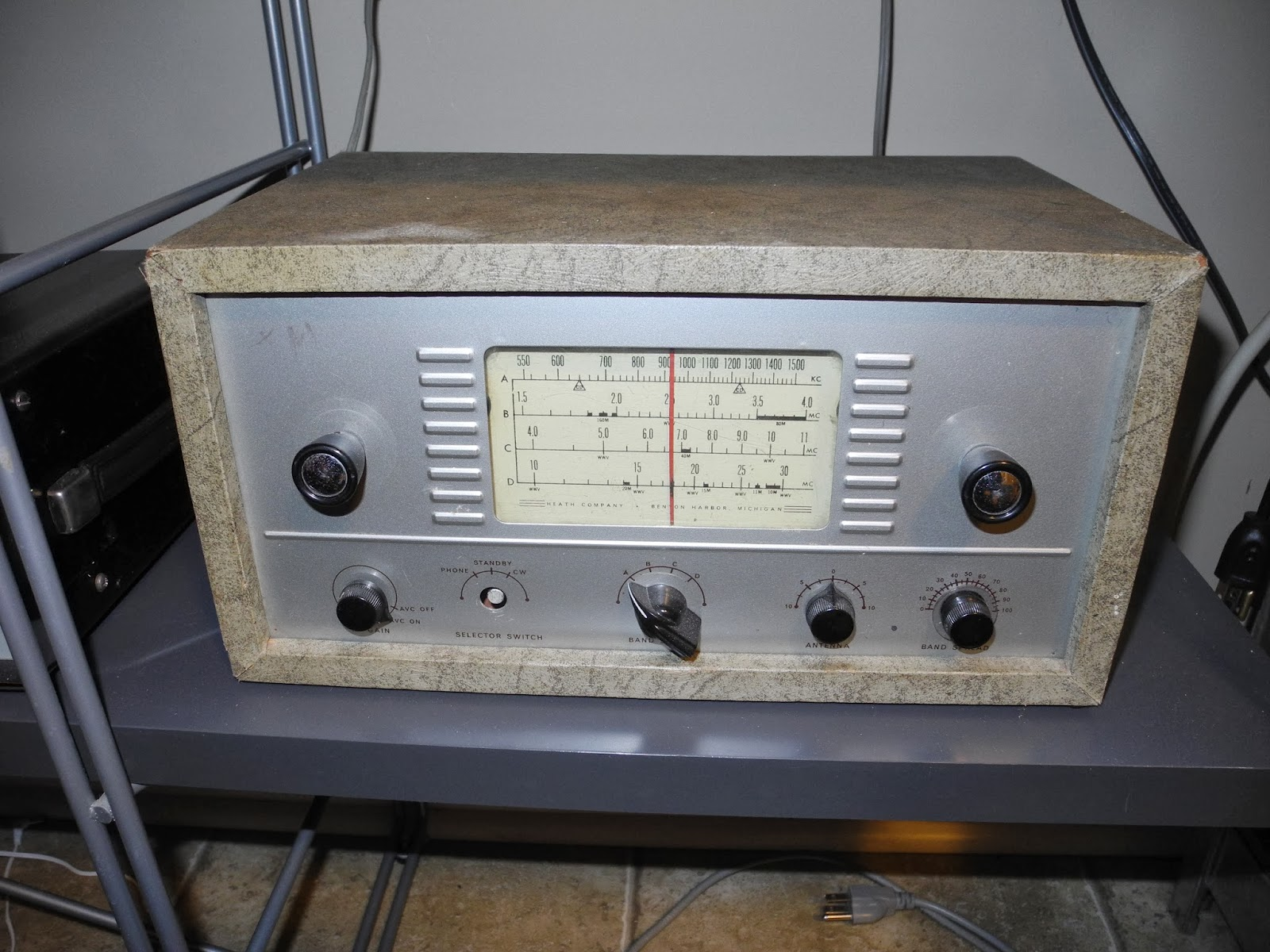 AR-3 Heathkit Receiver